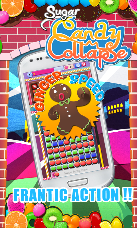 Sugar Candy Collapse- screenshot