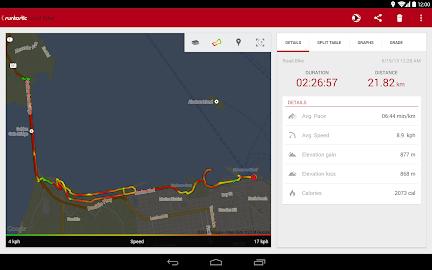 Runtastic Road Bike Tracker Screenshot 11