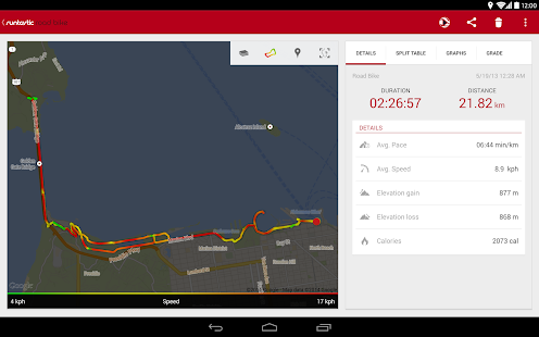 Runtastic Road Bike Tracker Screenshot 15
