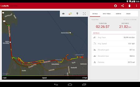 Runtastic Road Bike Tracker 2.2.1 screenshot 37460