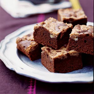 Mexican Chocolate Streusel Brownies