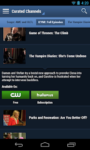 TV Guide Mobile - screenshot thumbnail