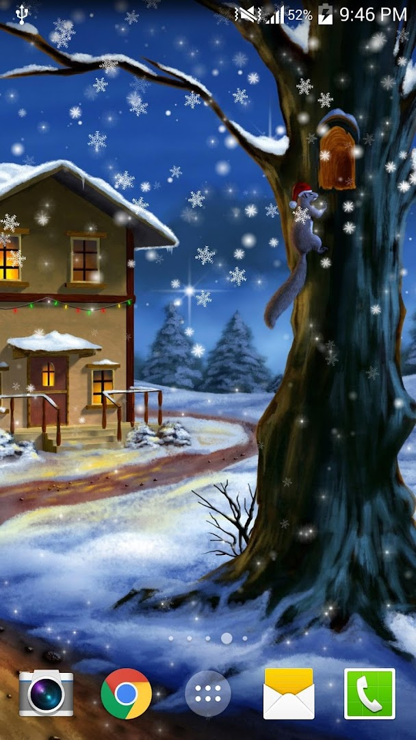 Snow Night Pro Live Wallpaper Google Play Store Revenue