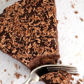 Brownie Batter Chocolate Tart.