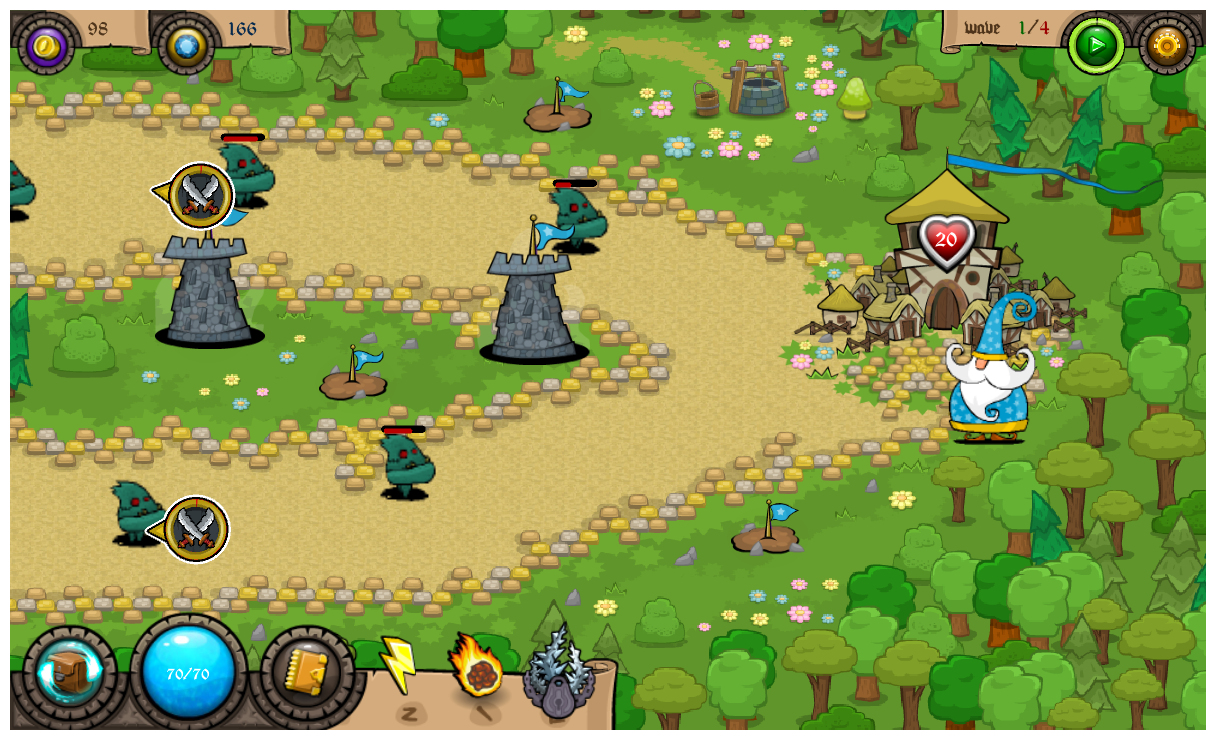 Tower Defense Wizard- screenshot
