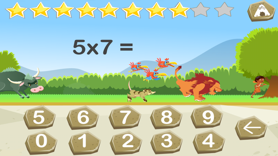 Tables de multiplication android apps on google play for Jeu des multiplications
