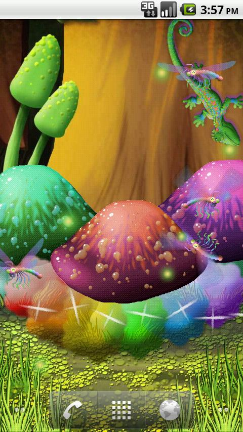 Magic Mushrooms Livewallpaper - screenshot