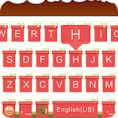 Download Gift Theme for Emoji Keyboard APK