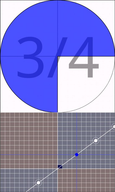 Touch Fraction - screenshot