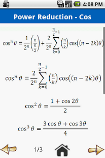 Trigonometry Formulas Free - screenshot thumbnail