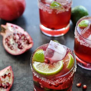 {Cocktail Friday} Pomegranate Margarita.