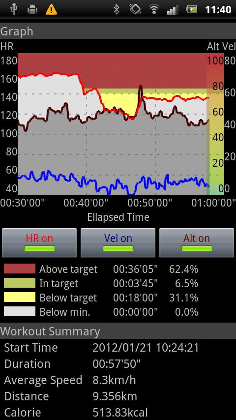 Heart Rate Monitor plus - screenshot