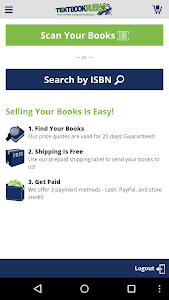 TextbookRush – Sell books screenshot 0