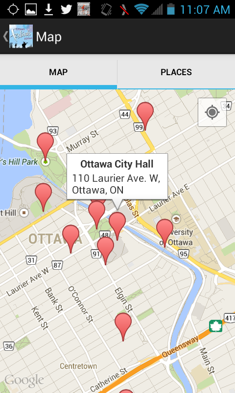 Ottawa Festivals- screenshot