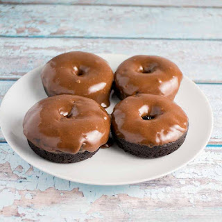 Chocolate Donuts with Creamy Chocolate Frosting (Dairy Free)