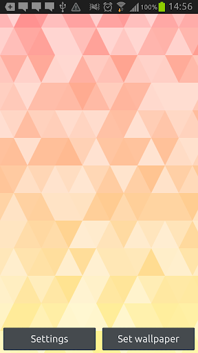 TriangleShapes Wallpaper