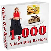 1000 Atkin's Diet Recipes FREE