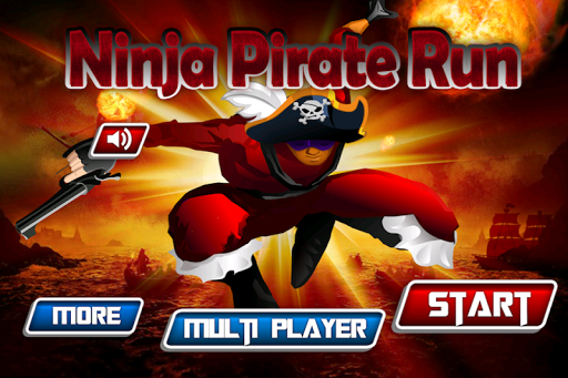 Ninja Pirate Treasure Run - HD