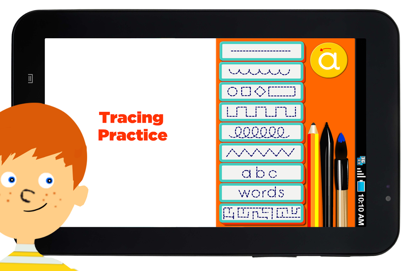Tracing For Kids- screenshot