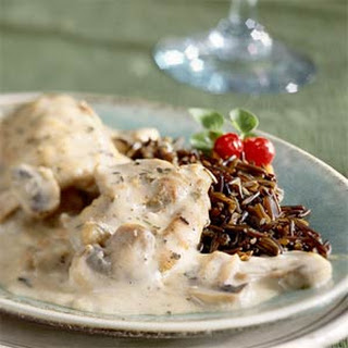 Chicken in Wine Cream Sauce.