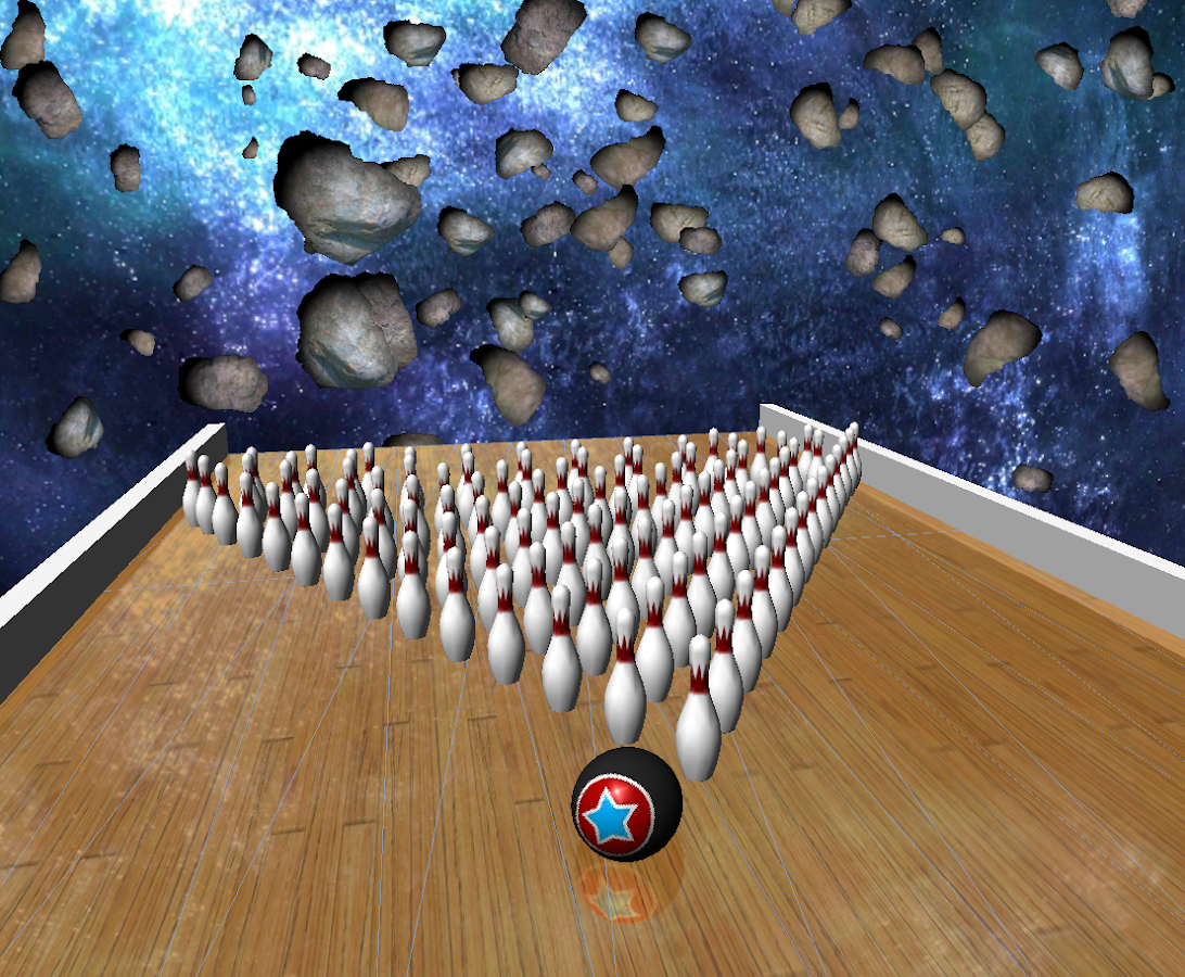 Galaxy Bowling 3D Lite - screenshot