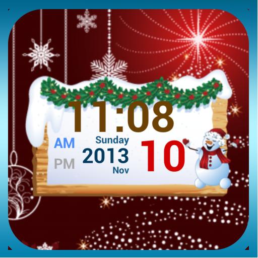 聖誕節數字時鍾 個人化 App LOGO-APP試玩