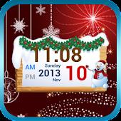 Christmas Digital Clock Free