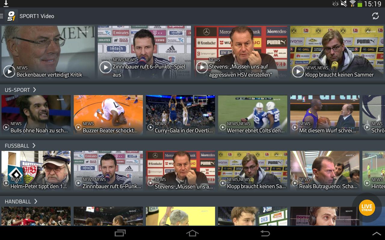 Sport1 Handball Livestream