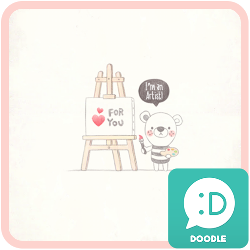 쿵이(artist) 카카오톡 테마 LOGO-APP點子