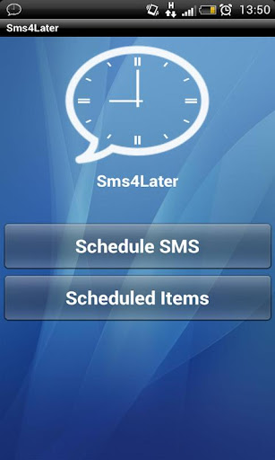 Sms 4 Later