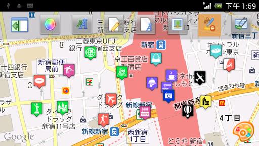 Map Marker 地圖標記