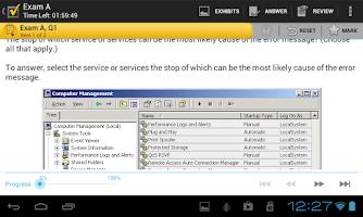 Screenshot of A+ VCE Classic
