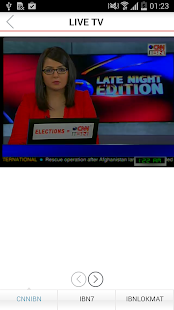 IBNLive for Android- screenshot thumbnail