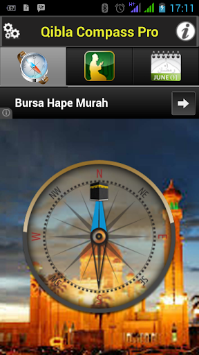 QIBLAT COMPASS PRO