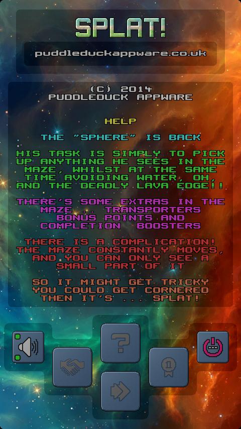Splat! - screenshot