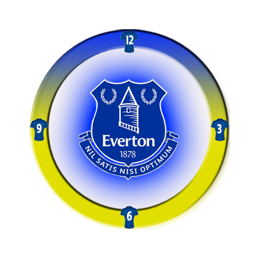 Everton Clock Widget