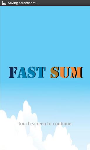 Fast Sum