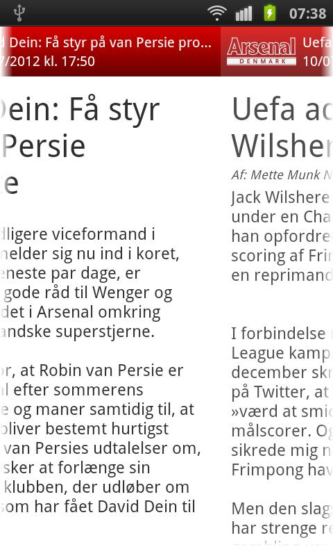 Arsenal Denmark- screenshot