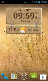 Beautiful Clock Widgets- screenshot thumbnail