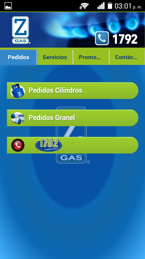 Zeta Gas Guatemala- screenshot
