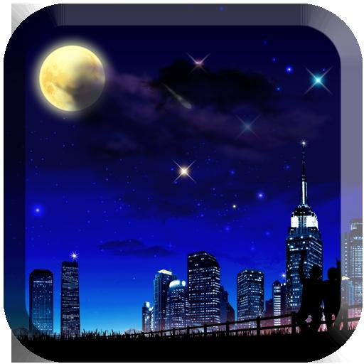 浪漫星空流星動態壁紙 個人化 App LOGO-APP試玩