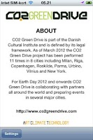 Screenshot of CO2 Green Drive