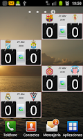 Screenshot of Widget League Adelante 2015/16