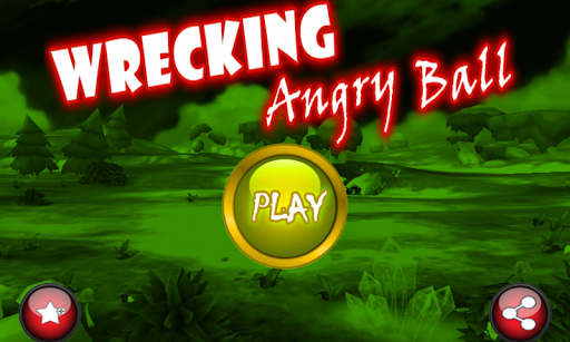 Wrecking Angry Ball