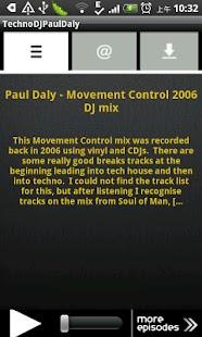 TechnoDJPaulDaly- screenshot thumbnail