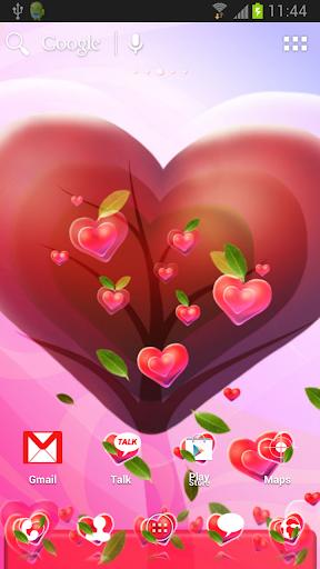 ADWのためのバレンタインハートのテーマ