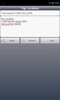 Screenshot of Tap Location