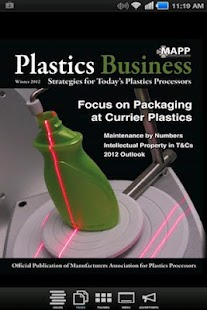 Plastics Business Magazine- screenshot thumbnail