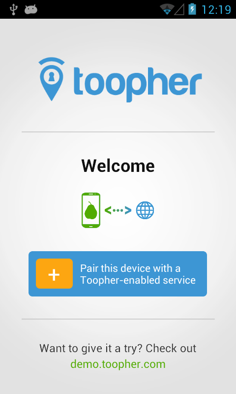 Toopher- screenshot