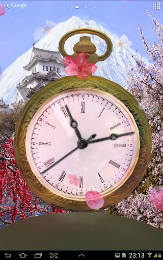 3D時計の春